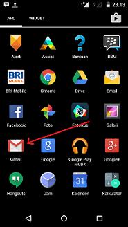 Cara Mengirim Foto atau Gambar Melalui Email Dari HP Android